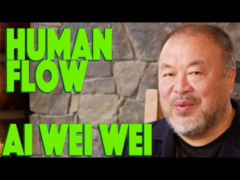 "AI WEIWEI DISCUSSES ""HUMAN FLOW"""