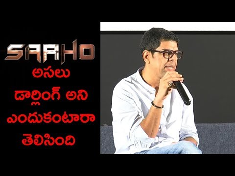 Murali Sharma About Prabhas At An Interview About Saaho