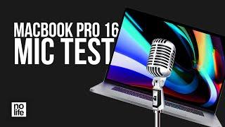 "Macbook Pro 16"" Microphone Test"