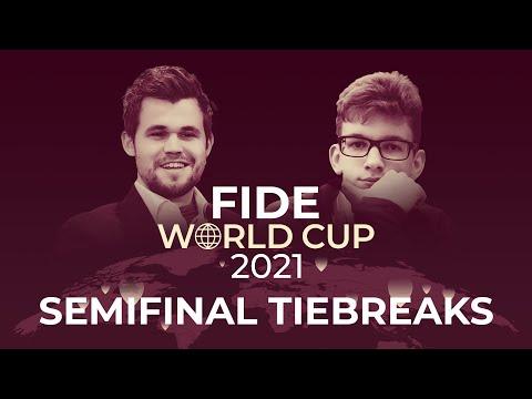 Carlsen vs Duda: FIDE World Cup Semifinal Tiebreaks