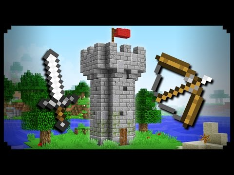 minecraft castle tower tutorial