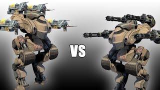 Patton (Magnums) vs Patton (Punishers) - AnakinTEST #21 | War Robots