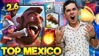TOP MEXICO AHORA SI! MAESTRO 2.6! BIEN TAURINO! CLASH ROYALE 😱
