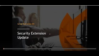 Servoy Tech Webinar series - Security extension update, multi-tenancy and UX for ISVs.