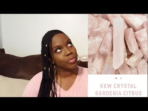 KKW Crystal Gardenia Citrus Full Review