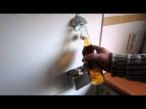 Bottle opener, Decapsuleur mural, Wandopener, Wandflaschenöffner