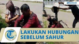 Fakta Viral Video Pasangan Selingkuh Diguyur Air Got: Berzina sebelum Sahur hingga Sudah Berkeluarga