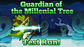 "[Cookie Run: Ovenbreak] Wind Archer's New Costume ""Guardian Of The Millenial Tree"" Test Run!"