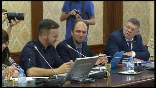 Александр Моор на большой пресс-конференции не раз затронул тему спорта