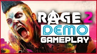 RAGE 2 (NEW) 16 Minutes CRAZY Gameplay First look | 1080p 60fps