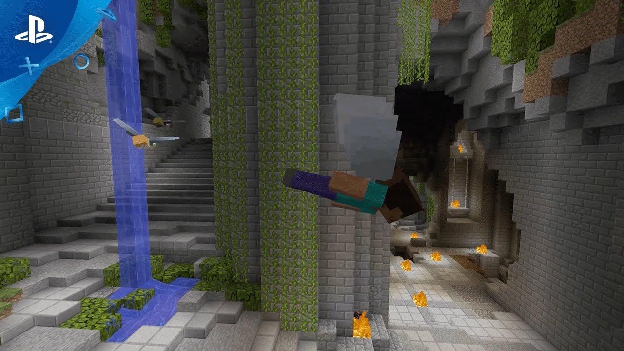¡Nuevos minijuegos y aspectos de Minecraft ya disponibles!
