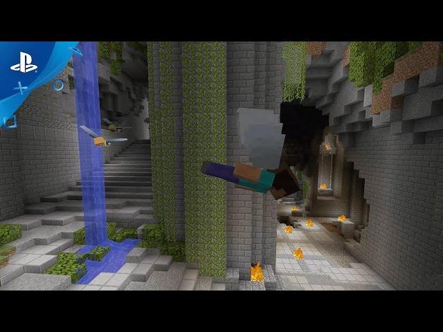 MINECRAFT - Glide Mini Game Trailer | PS4, PS3, PS Vita