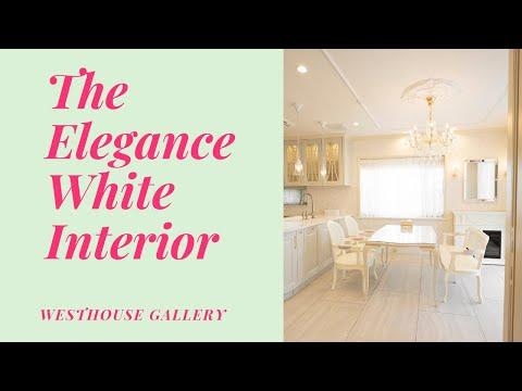 洗練された白家具インテリアのルームツアー