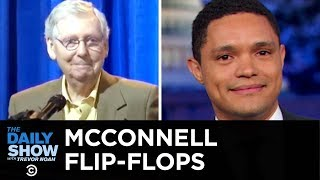 Mitch McConnell's Supreme Court Villainy & A Weatherman's Outrage | The Daily Show