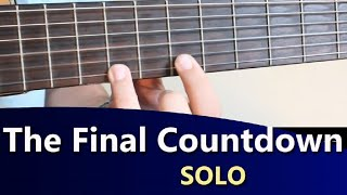 The Final Countdown - Europe - Guitar tab