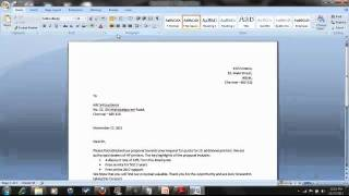 Basics of Microsoft Word - Tamil
