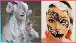 Halloween Makeup Artist Who Are At Another Level ▶ 5