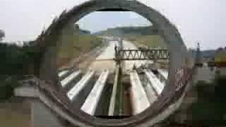 preview picture of video 'CiSomang Bridge Construction 2005 - Cipularang AP team'
