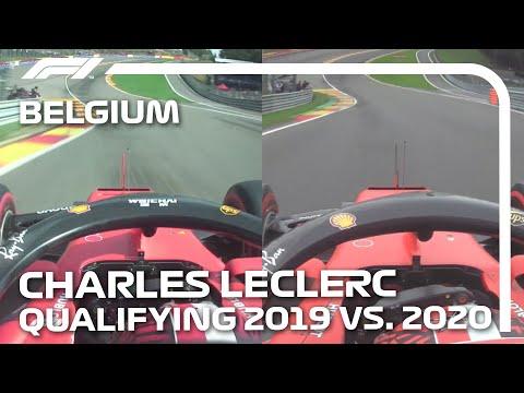 【動画】フェラーリのシャルル・ルクレールの走りがどれだけ変わったのか2019年と2020年のスパ・フランコルシャンオンボード映像比較。F1 2020 第7戦ベルギーGP
