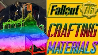 Fallout 76 Farming Crafting materials ULTIMATE GUIDE !  | fastest way to get xo1 armor