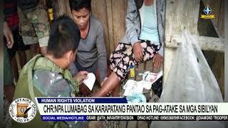 CHR: NPA nilabag ang karapatang pantao ng atakehin nito ang ilang sibilyan