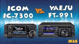 Icom IC-7300 Vs Yaesu FT-991 80m SSB Comparison With ML&S