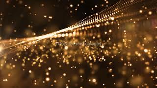gold particles video, gold dust particles overlay | gold background particles | gold particles video