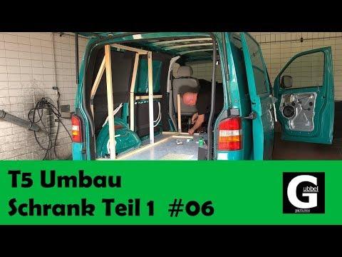 fufgubbel - VW T5 Camper Umbau #Schrank Unterbau Teil 1 #06