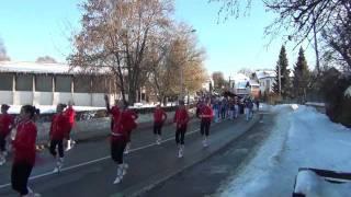 preview picture of video 'Pustna povorka - Novo mesto 2012'