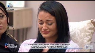 Secrete dureroase ies la iveala! Manuela, in lacrimi! A fost casatorita cu un barbat violent?