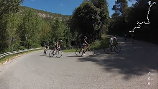 preview picture of video 'Cycling in Catalunya Spain - Sant Miquel del Fai'