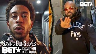"Ludacris & Jermaine Dupri Bring The Heat With ""Welcome To Atlanta"" Performance!"