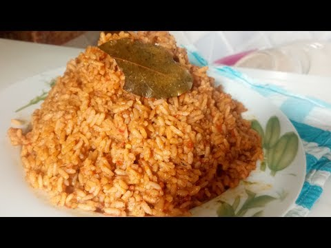 How to Prepare Jollof Rice Without Parboiling| Perfect Jollof Rice Colour