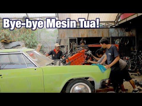 Progress Restorasi Chevy Impala 1966 [Turunin Mesin Bawaan]