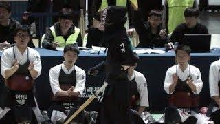 2019 전국 춘계 중고등학교검도대회 고등부 단체전 서석고 VS 김해영운고 동영상