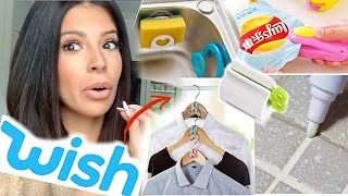 I TRIED WISH HOME DECOR & GADGETS | I BOUGHT THE CHEAPEST ITEMS!