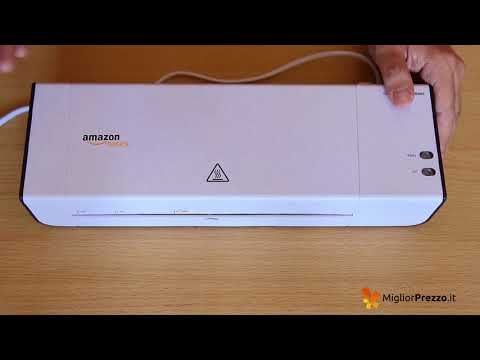 Plastificatrice a caldo AmazonBasics Video Recensione