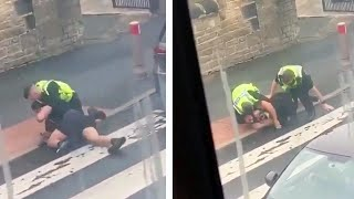 video: 'I'll choke you out': Police officer removed from frontline after arrest video emerges