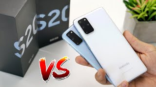 Samsung Galaxy S20 vs Samsung Galaxy S20+ Unboxing + Camera Test with TOF!