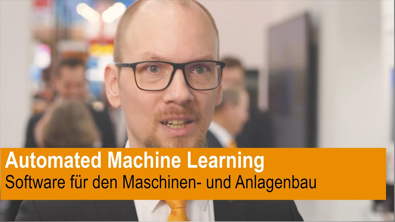 Geautomatiseerde Machine Learning-software voor machine- en installatiebouw
