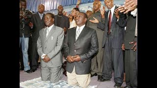 In a comical fashion of twists, Ruto seeks Raila Odinga's blessings