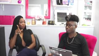 "Part 2, Coco of BET's ""Ink, Paper, Scissors"" Explains Beef with Danni"