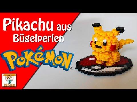 3D Perler Bead Pikachu - смотреть онлайн на Hah Life