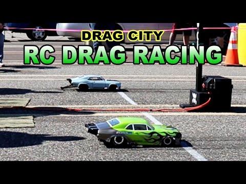 RC drag racing - Drag City -  Arrma Infraction modified