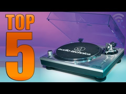 Top 6 Best Stereo Turntables in 2018