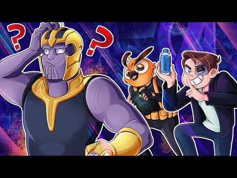 Avengers: End Game except we expand inside Thanos butt to defeat him | Gmod Funny Moments (видео)