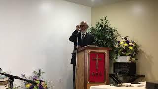 August 26, 2018 - Guest Speaker, Rev. Amos Beck