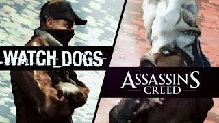 ВЕЛИКАЯ РЭП БИТВА. Watch Dogs VS Assassin's Creed