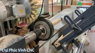 Máy tiện cnc nạp phôi tự động Woodmaster | WM-1500ASL