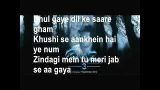 Dewana Kar Raha Hai (HD) with Lyrics - Raaz 3